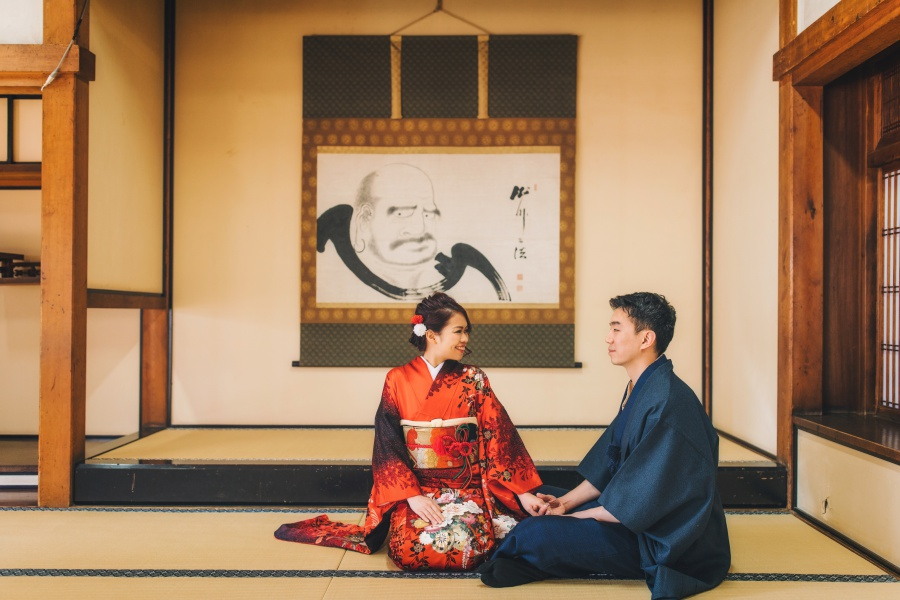 Japan Pre-Wedding And Kimono Photoshoot At Gion District  by Shu Hao  on OneThreeOneFour 6