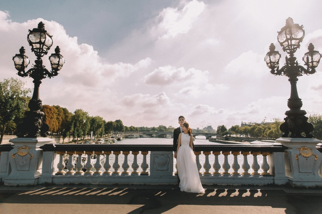 Paris Wedding Photo Session | Eiffel Tower | Louvre | Bir Hakkeim by Vin on OneThreeOneFour 21