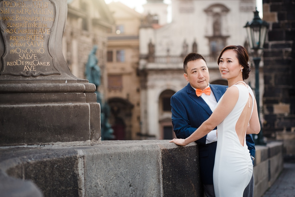 V&D: Prague Wedding Photoshoot at Old Town Square Charles Bridge and Vlatava River  by Roman on OneThreeOneFour 11