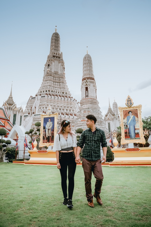 Thailand Photoshoot At Wat Arun and Bangkok Street  by Por  on OneThreeOneFour 1