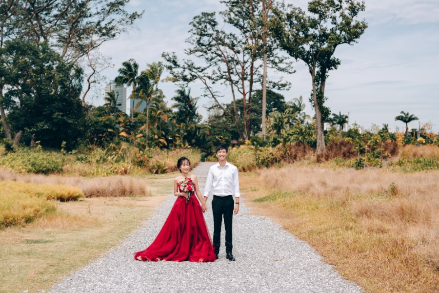 F&N: Cutest couple pre-wedding at Jurong Lake, Gardens by the Bay & Jewel by Grace on OneThreeOneFour 9