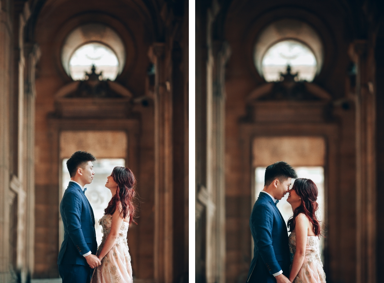 Paris Pre-Wedding Photography for Singapore Couple At Eiffel Tower And Palais Royale  by Arnel on OneThreeOneFour 8