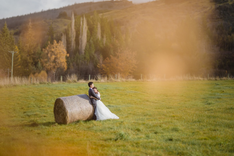 New Zealand Pre-Wedding Photoshoot At Coromandel Peak, Arrowtown And Alpaca Farm by Felix  on OneThreeOneFour 24