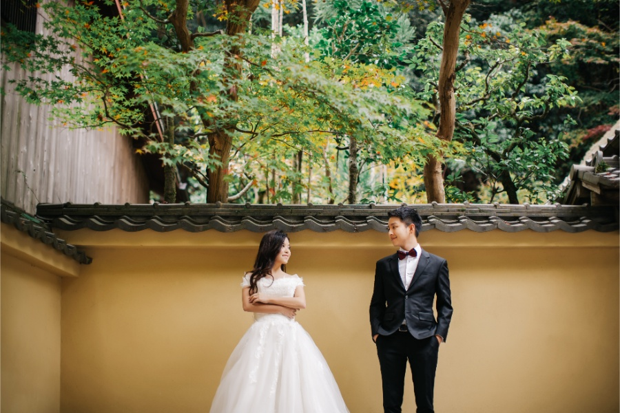 A&L: Kyoto Autumn Pre-wedding Photoshoot at Kimono Forest by Kinosaki on OneThreeOneFour 13