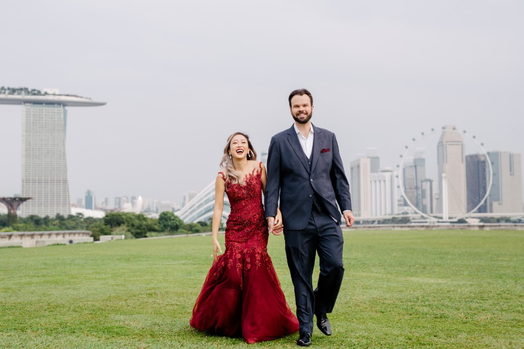 Romantic & Dreamy Pre-Wedding at Singapore Wedding Tree | Singapore Pre-Wedding Photography by Cheng on OneThreeOneFour 3