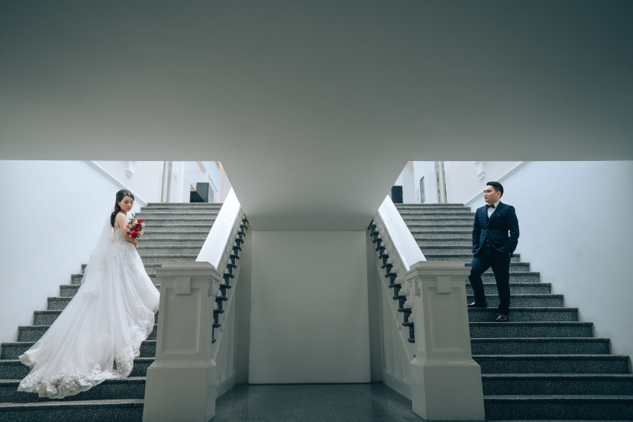 Singapore Couple Pre-Wedding Photoshoot At National Museum, MCE And Canterbury Road by Michael on OneThreeOneFour 2