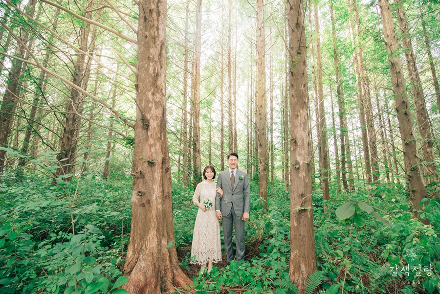 Korea Rustic Outdoor Pre-Wedding Photography in Osan Mulhyanggi Arboretum by Gayun on OneThreeOneFour 7