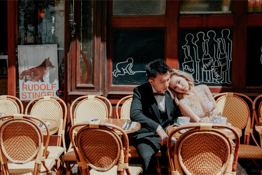 Naomi & Hann's Wedding Photoshoot in Paris by Arnel on OneThreeOneFour 32