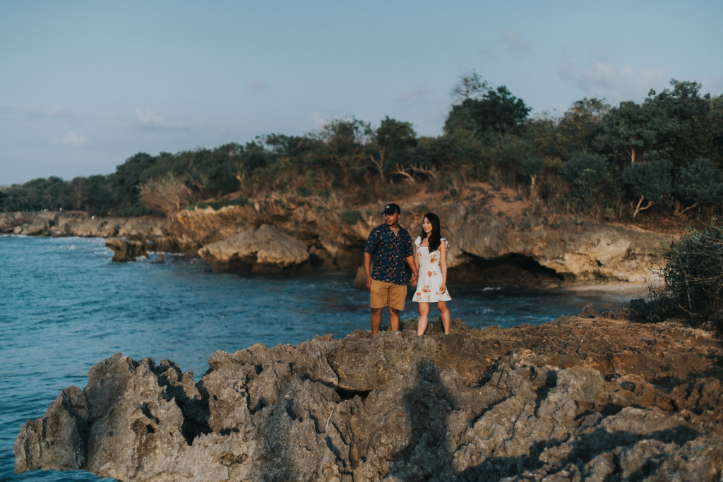 Bali Casual Photoshoot Session At A Hidden Gem For Interracial Couple From Korea And USA  by Hery  on OneThreeOneFour 13
