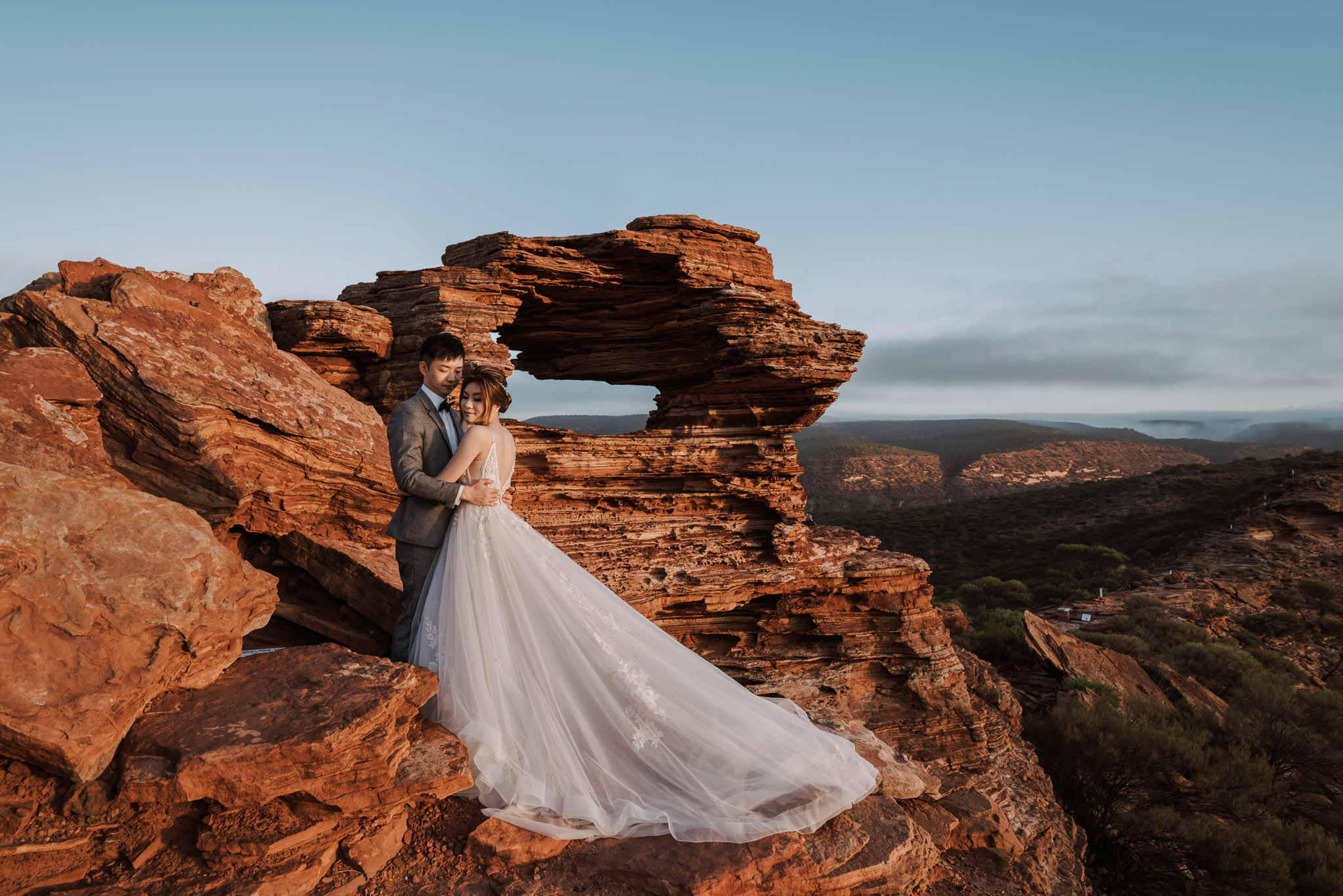 T&J: Nature loving pre-wedding in Perth at Lancelin, canyon and beach by Jimmy on OneThreeOneFour 9