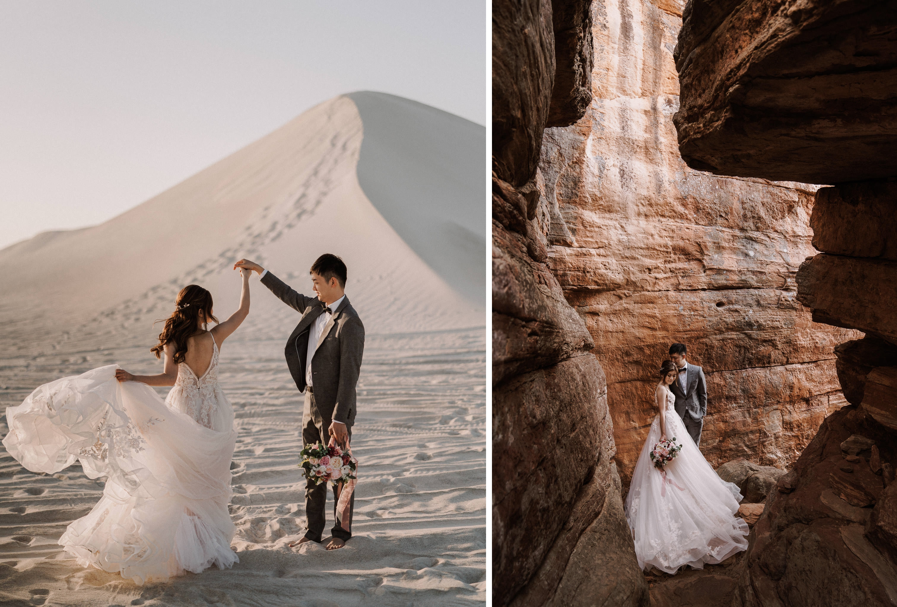 T&J: Nature loving pre-wedding in Perth at Lancelin, canyon and beach by Jimmy on OneThreeOneFour 7