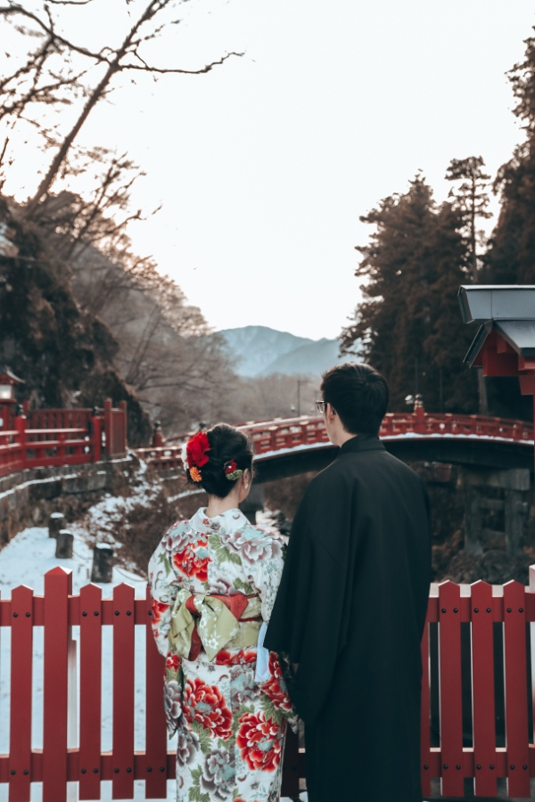 R&B: Tokyo Winter Pre-wedding Photoshoot at Snow-covered Nikko by Ghita on OneThreeOneFour 33