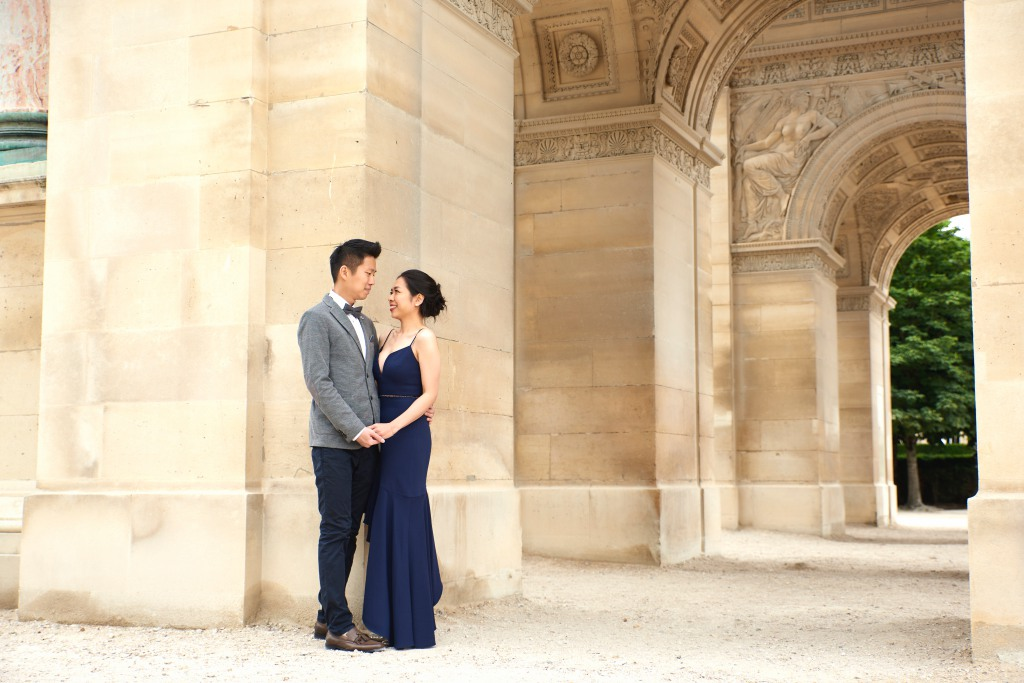 Paris Pre wedding Photographer: T & J Celebrates Their Sweet Escape To Paris by Arnel  on OneThreeOneFour 21