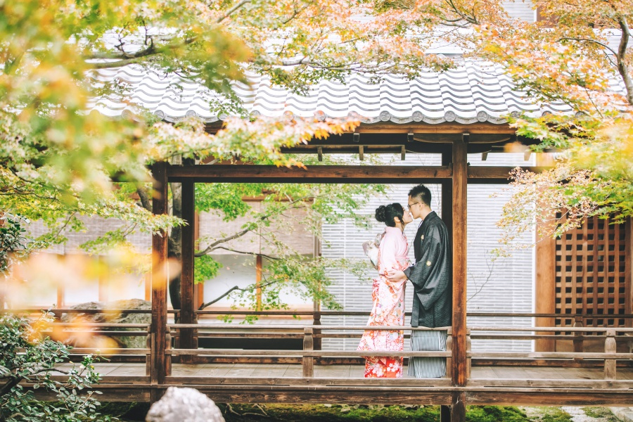Kyoto Kimono Photoshoot At Shosei-en Garden and Kennin-Ji Temple, Gion District  by Shu Hao  on OneThreeOneFour 3