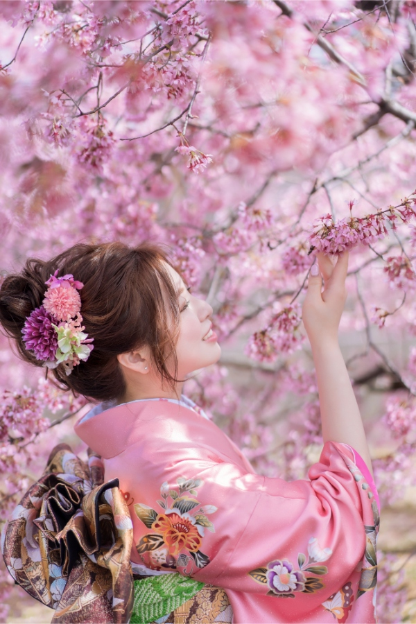 E&V: Kyoto Spring Cherry Blossoms Pre-wedding Photoshoot by Kinosaki on OneThreeOneFour 2
