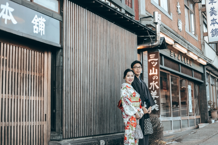 R&B: Tokyo Winter Pre-wedding Photoshoot at Snow-covered Nikko by Ghita on OneThreeOneFour 27
