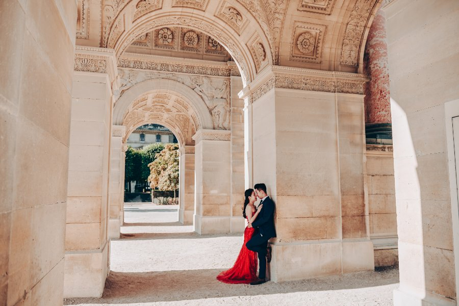 I&R: Pre-wedding at Eiffel Tower, Petit Palais, Louvre Museum by Arnel on OneThreeOneFour 18