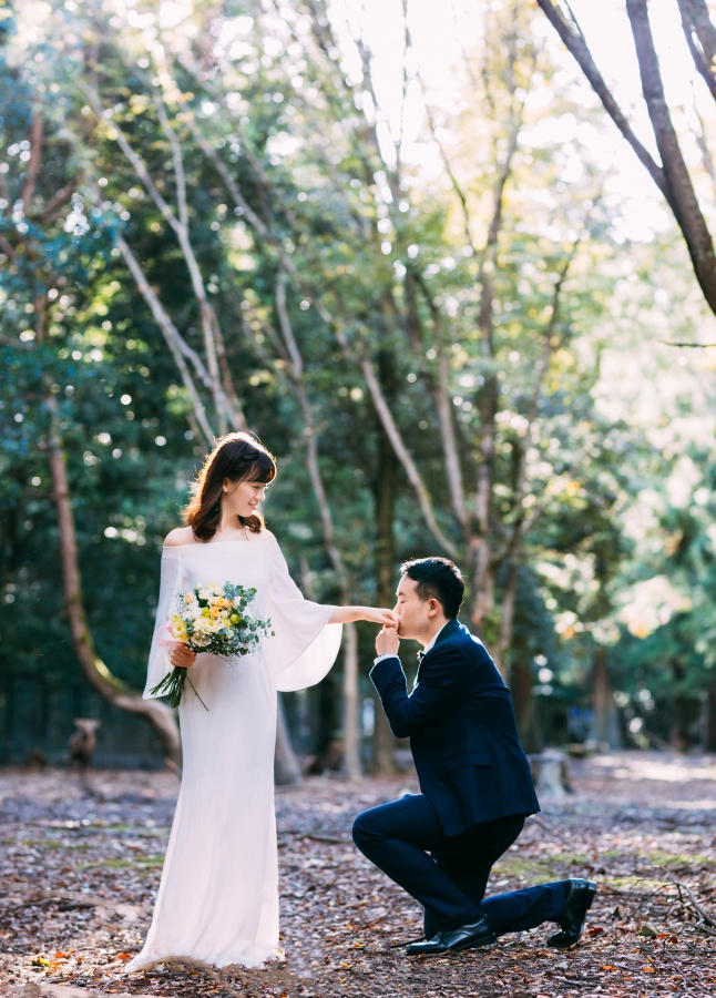 Japan Pre-Wedding Photoshoot At Nara Deer Park  by Jia Xin on OneThreeOneFour 3