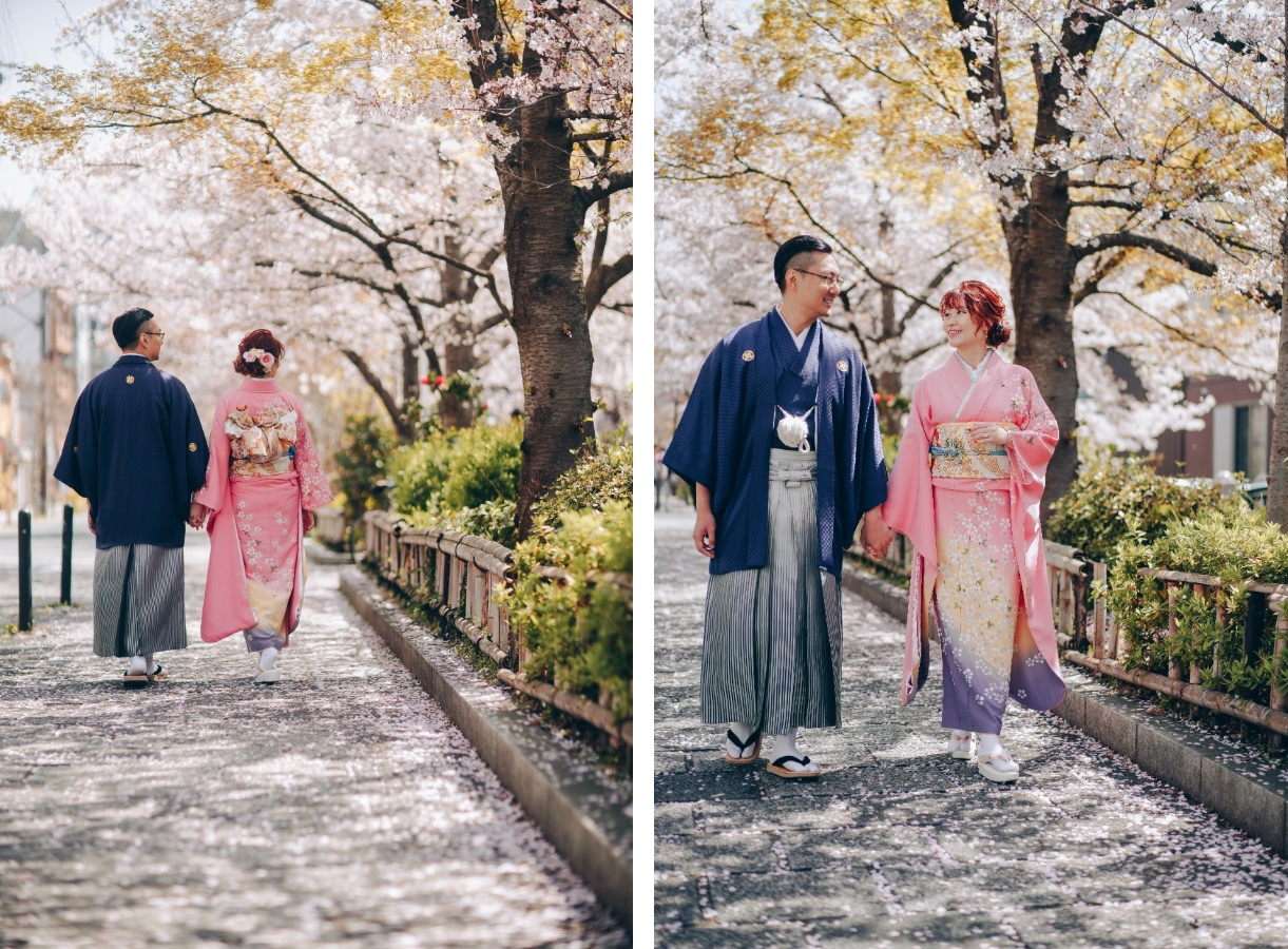 C&W: Kyoto Sakura Pre-wedding Photoshoot  by Kinosaki on OneThreeOneFour 8