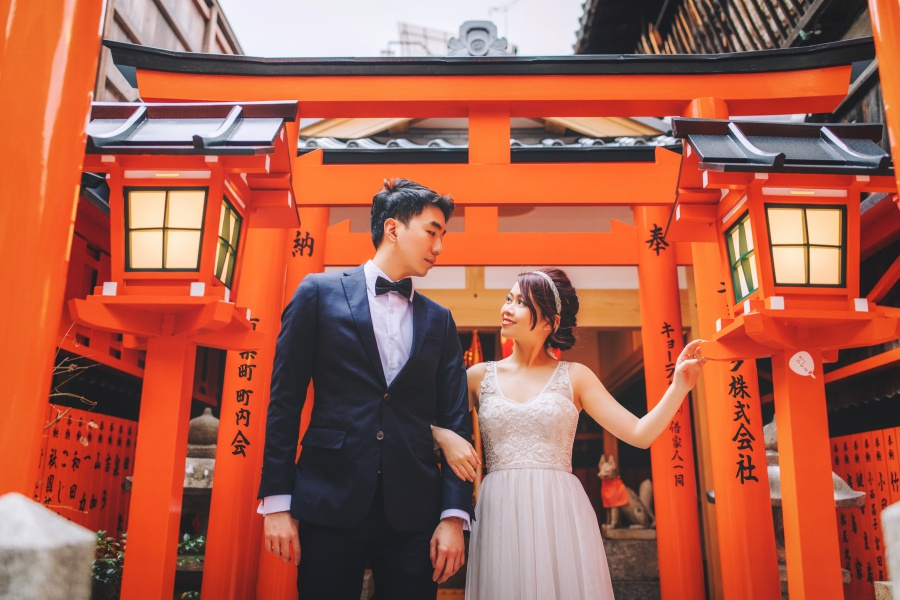 Japan Pre-Wedding And Kimono Photoshoot At Gion District  by Shu Hao  on OneThreeOneFour 23