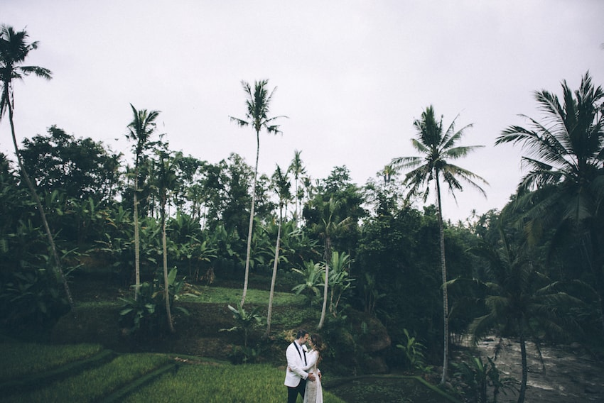 bali post-wedding couple shoot nyanyi beach