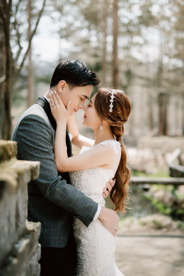 C&J: Korea Spring Pre-wedding Photoshoot with Hanbok at Namsangol Hanok Village and Nami Island by Jungyeol on OneThreeOneFour 30