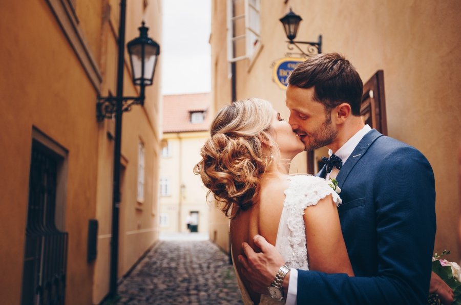 Prague Pre-Wedding Photoshoot At Vrtba Garden And Charles Bridge  by Nika  on OneThreeOneFour 22