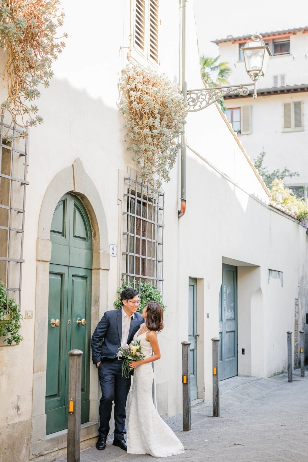 Y&J: Italy Florence Wedding Photoshoot - Singapore Couple -Spring by Olga on OneThreeOneFour 18