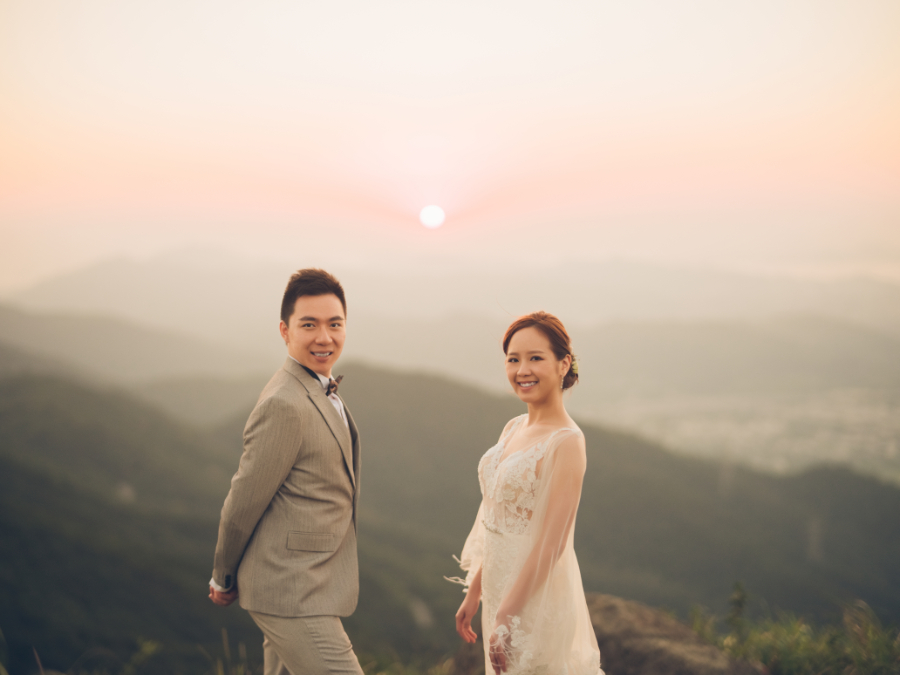 Hong Kong Outdoor Pre-Wedding Photoshoot At Tai Mo Shan by Paul on OneThreeOneFour 23
