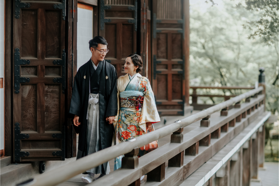 Tania & Hayato's Japan Pre-wedding Photoshoot in Kyoto and Osaka by Kinosaki on OneThreeOneFour 1