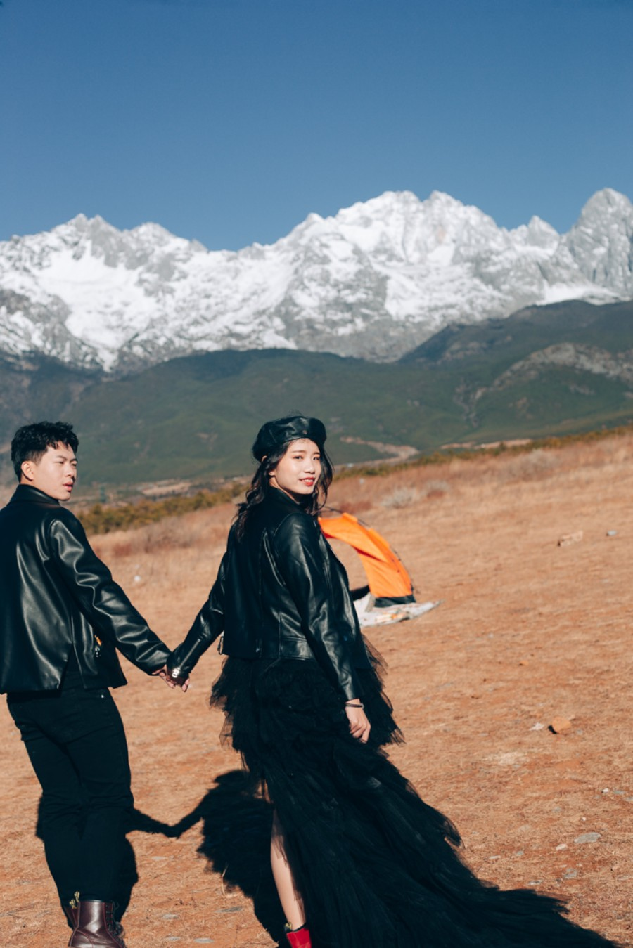 Yunnan Outdoor Pre-Wedding Photoshoot At Lijiang by Cao on OneThreeOneFour 3