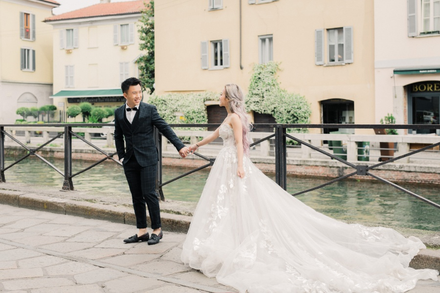 Naomi & Hann's Wedding Photoshoot in Milan by Olga on OneThreeOneFour 15