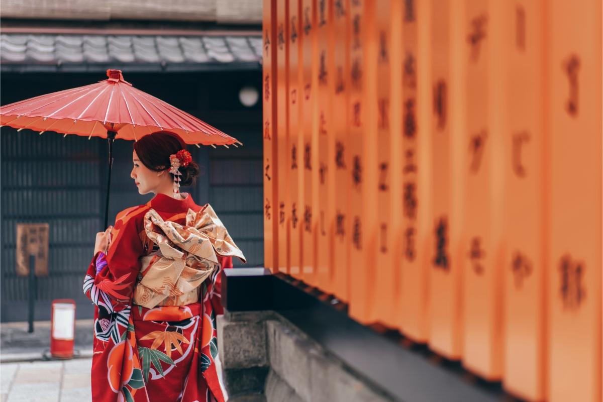 Kyoto and Nara Sakura Pre-wedding and Kimono Photoshoot  by Kinosaki on OneThreeOneFour 2
