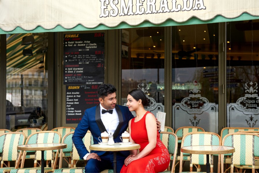 R&J: Indian Post-wedding Photoshoot in Paris by Arnel on OneThreeOneFour 17